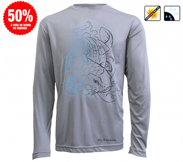 Camiseta BY Dry Carpa Masculina