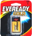 Pilha Eveready Gold 9V