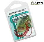 Anzol Crown Offset EWG Red