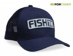 Boné For Fisher Oficial Fish TV Azul Marinho