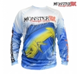 Camiseta Monster 3X Fish Collection Dourado do Mar Masculina