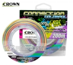 Linha Multifilamento Crown Connection 9x Colorful