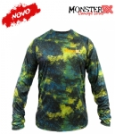 Camiseta Monster 3X NEW Dry Sun - Offshore