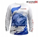 Camiseta Monster 3X Fish Collection Red Fish Masculina