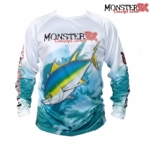 Camiseta Monster 3X Fish Collection Atum Masculina