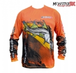 Camiseta Monster 3X Fish Collection Robalo Masculina