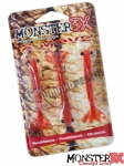 Isca Artificial Camarão Monster 3X X-Move - 9 cm