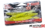 Isca Artificial Monster 3X X-Swim - 12 cm