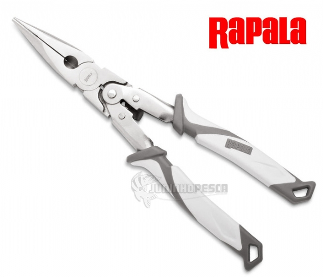 "Alicate Rapala Angler's Double Leverage Pliers 9"" SADLP9"