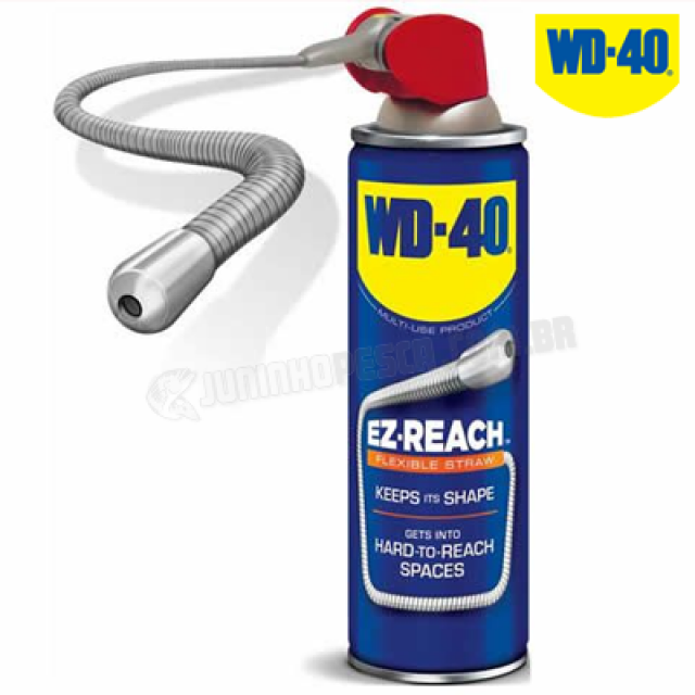 Óleo WD-40 EZ-Flex Spray e Jato Flexível 400 mL