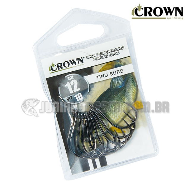 Anzol Crown Tinu Sure Black
