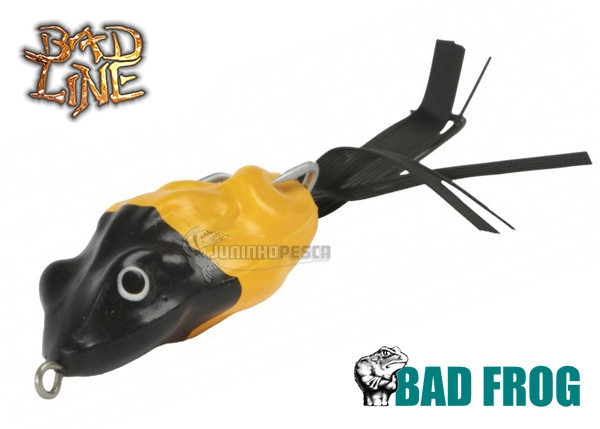 Isca Artificial Bad Line Sapo Bad Frog Soft