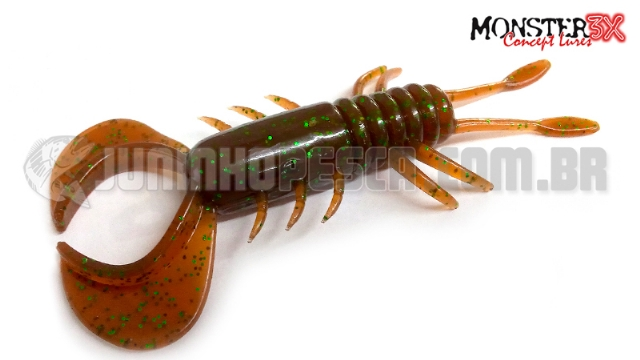 Isca Artificial Monster 3X Bullet Crab 8 cm