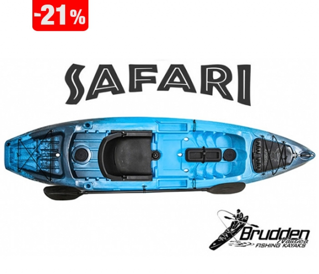 Caiaque Brudden Safari Evolution Fishing - Safira