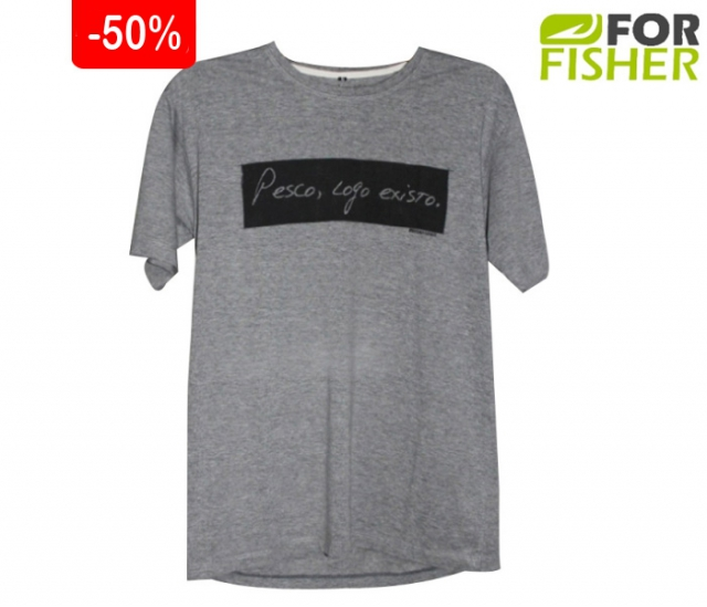 Camiseta For Fisher Print Pesco Logo Existo