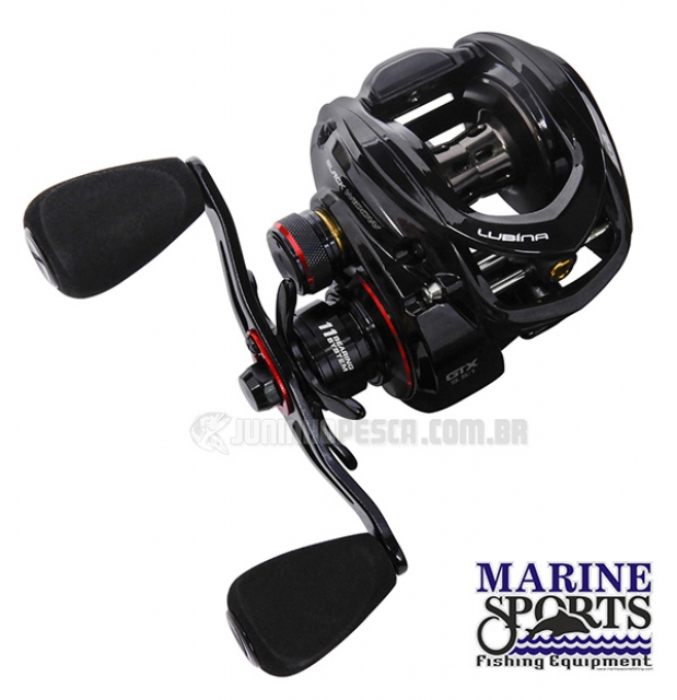 Carretilha Marine Sports Lubina Black Widow GTX SHI (Direita)