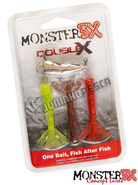 Isca Artificial Monster 3X Double-X G - 12 cm