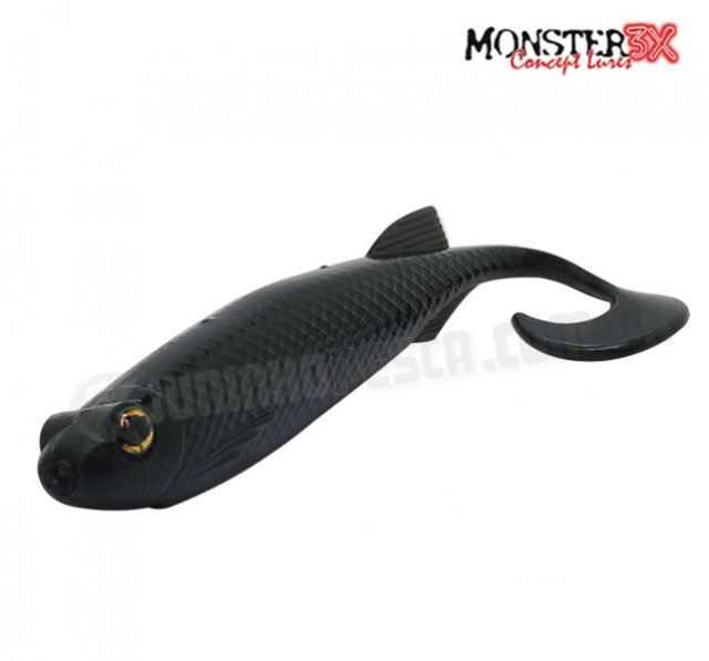 Isca Artificial Monster 3X E-Shad - 15 cm c/ 2 Unidades