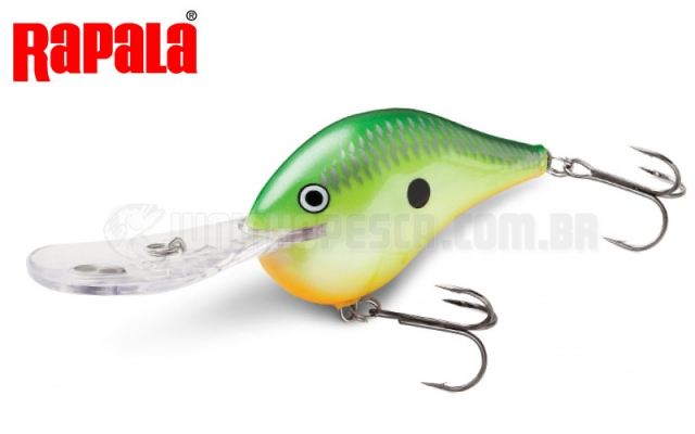 Isca Artificial Rapala DT- 6 Dives-To (5cm 12g)