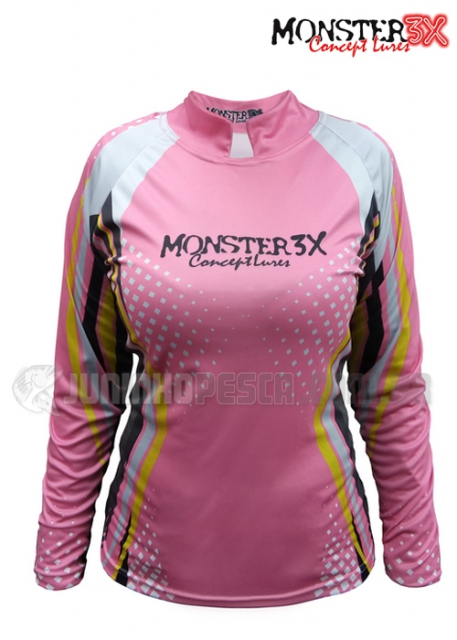 Camiseta Monster 3x New Fish Feminina