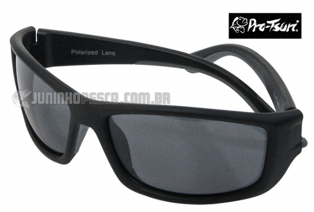 bc7be2f39 Óculos Polarizado Pro-Tsuri Venon Preto c/ Lente Fumê P031 ...