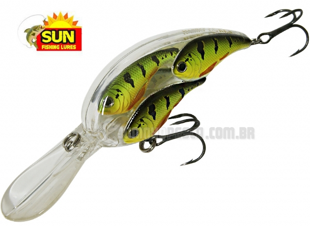 Isca Artificial Sun Fishing Crank Cardume CCTX - 7,5cm 23g