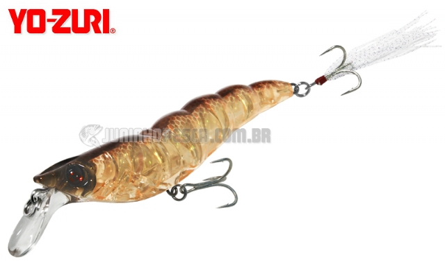 Isca Artificial Yo-Zuri Crystal 3D Shrimp SS 90 - Cor HRT