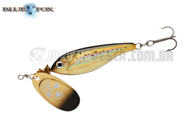 Spinner Blue Fox Super Vibrax Minnow BFMSV2 - 9g