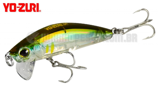 Isca Artificial Yo-Zuri 3D Inshore Surface Minnow (F) 70 Floating