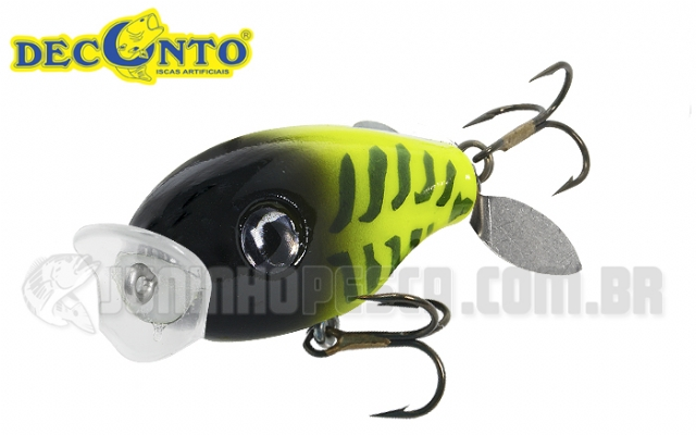 Isca Artificial Deconto Tilápia Turbo Popper TTP - 4cm 5g