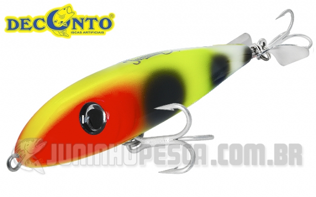 Isca Artificial Deconto Tucuna Turbo 110 TT110 - 11cm 18g