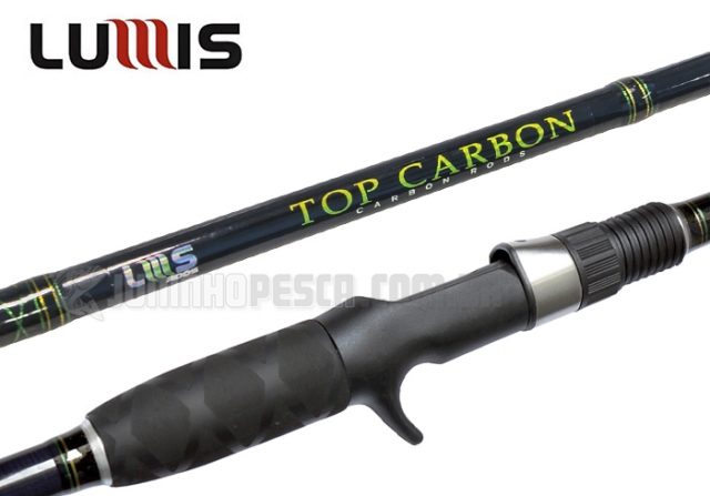 Vara Lumis Top Carbon IM5 20-50 lbs p/ Carretilha