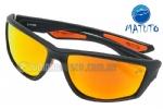 e3de7081e Óculos Polarizado Matuto 29031PL Preto Lente Laranja Espelhada