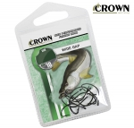 Anzol Crown Wide Gap Preto c/ 10 unidades
