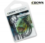Anzol Crown Offset EWG Black