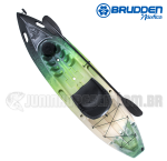 Caiaque Brudden Hunter Fishing UP Cor Trio Lima (PRONTA ENTREGA)
