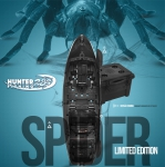 Caiaque Brudden Hunter Fishing 285 Combo Spider c/ Cooler