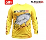 Camiseta Monster 3X Fish Collection Xaréu Masculina - Tam. P
