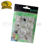 Isca Artificial Lizard Fishing Fly Hook Mod. 6809 (Kit c/ 12un.)