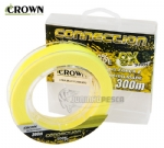 Linha Crown Multifilamento 9x Connection Amarela - 200m e 300m