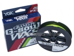 Linha YGK Multifilamento Grand PE G-Soul WX8 Light Green - 150 m