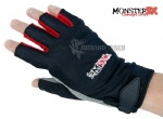 Luva Monster 3X X-Gloves Lycra 5 cortes