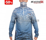 Moletom Monster 3X Fishing Blue Masculino