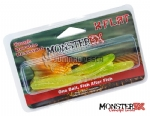 Isca Artificial Monster 3X X-Flat Soft Bait