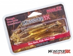 Isca Artificial Monster 3X X-Paddle Soft Bait (Pacote c/ 4 unidades)