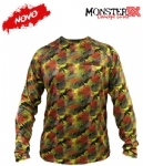 Camiseta Monster 3X NEW Dry Sun - Ocelo