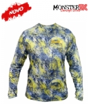 Camiseta Monster 3X NEW Dry Sun - Tuna