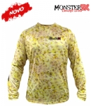 Camiseta Monster 3X NEW Dry Sun - Yellow King