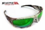 Óculos Polarizado Hidrofóbico Black Monster 3X River c  Lente Verde  Espelhada 641fe7cc58