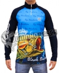 Camiseta Esportiva BY Dry Sport Fishing - Black Bass